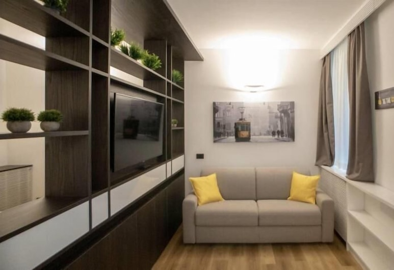 Madonnina Apartment, Milan, Apartment, 1 Bedroom, Living Area