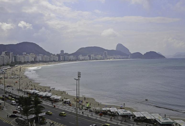 LineRio Praia de Copacabana 505, รีโอเดจาเนโร, อพาร์ทเมนท์สำหรับครอบครัว, หลายเตียง, วิวจากห้องพัก