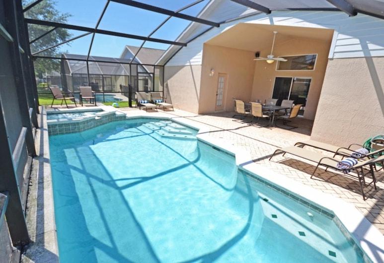 299110 โอเนดาโอเอซิส, คิสซิมมี, บ้านพัก, 5 ห้องนอน, สระว่ายน้ำในร่ม