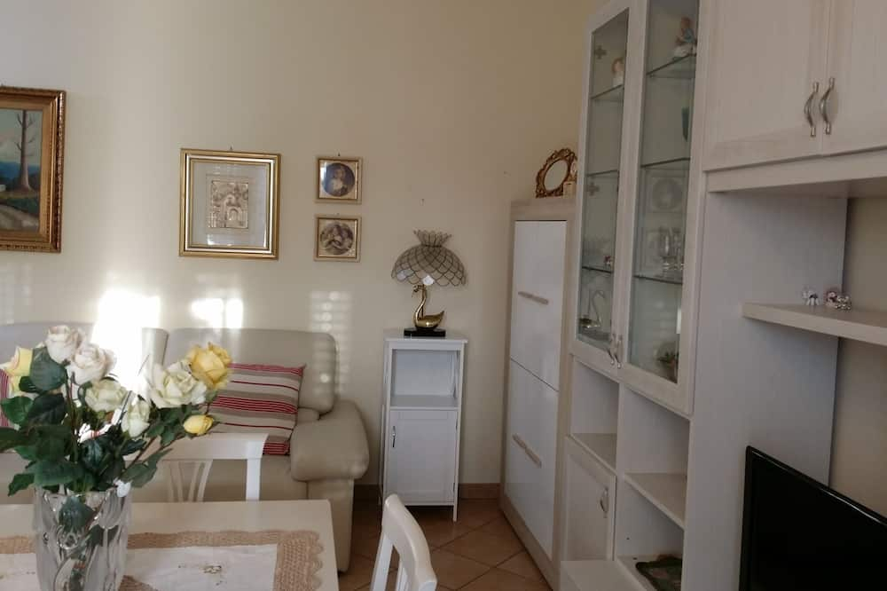 Apartamentai, 1 miegamasis - Svetainės zona