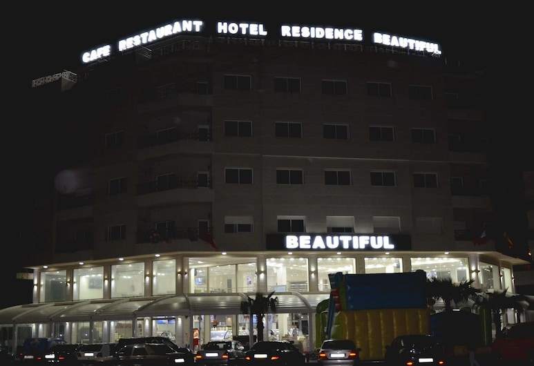 Hotel Beautiful, Nador, Fachada (noche)