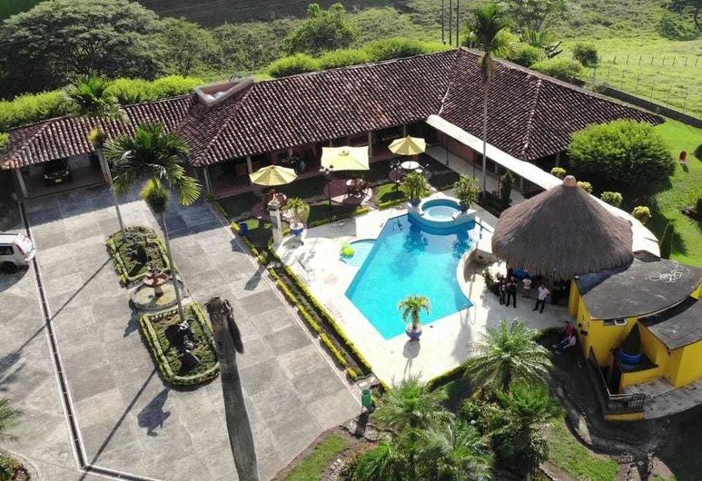 Coffee Hotel Boutique Campestre, Quimbaya, วิวจากมุมสูง