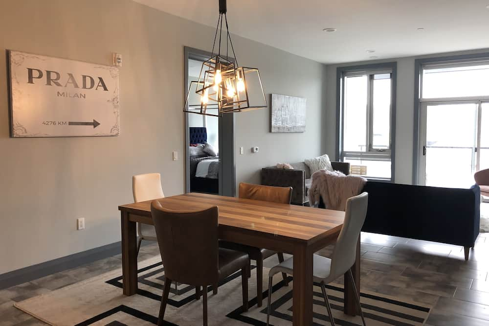Deluxe Διαμέρισμα (302) - Γεύματα στο δωμάτιο