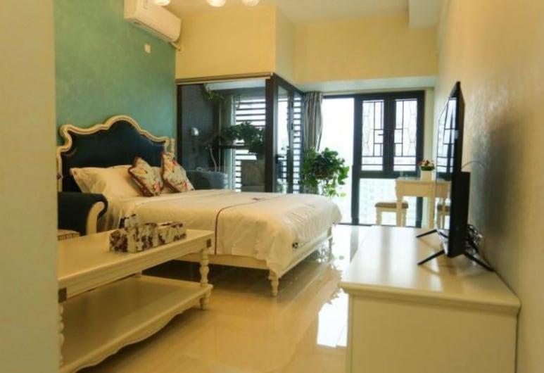 她他酒店公寓 (深圳南山地鐵站店), 深圳市,  豪華大床房, 客房