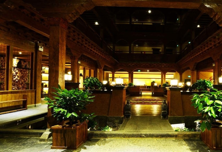 Dibei Characteristic Hotel, Dêqên, Entrée de l'hôtel