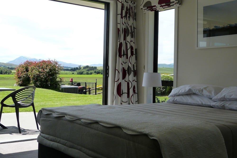 Familien-Dreibettzimmer, Mehrere Betten, Bergblick - Zimmer