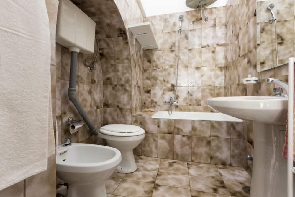 Deluxe-Apartment, 2Schlafzimmer (Trullo) - Badezimmer