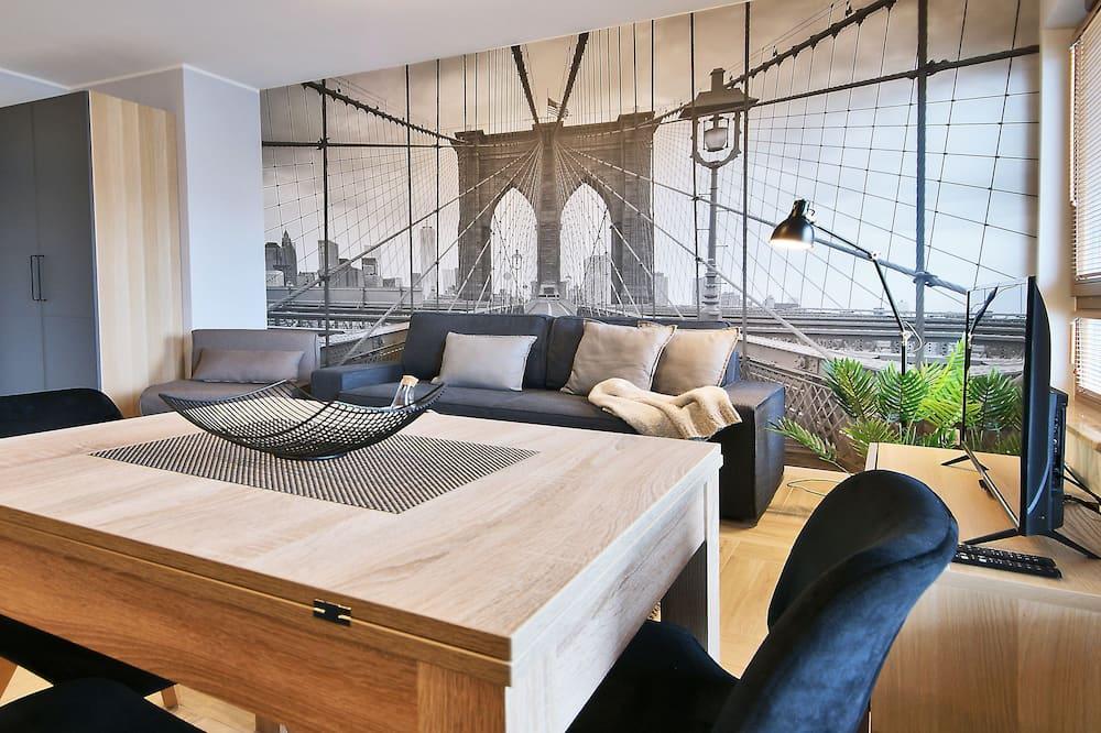 Klasisks dzīvokļnumurs - Dzīvojamā zona