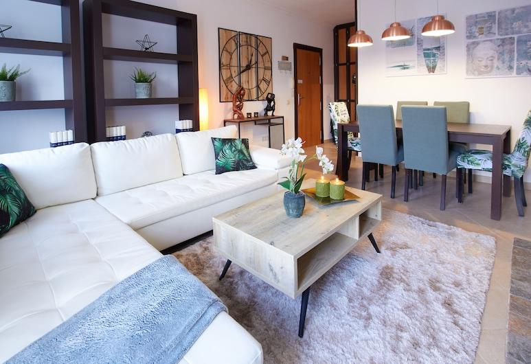 Banus Square 2 bedrooms Apartment, Marbella, Appartement, 2 slaapkamers, Woonkamer