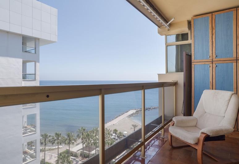 Mayoral Beach Centre Apartment 1 bedroom, Marbella, Leilighet, 1 soverom, terrasse, utsikt mot sjø, Utsikt fra rommet