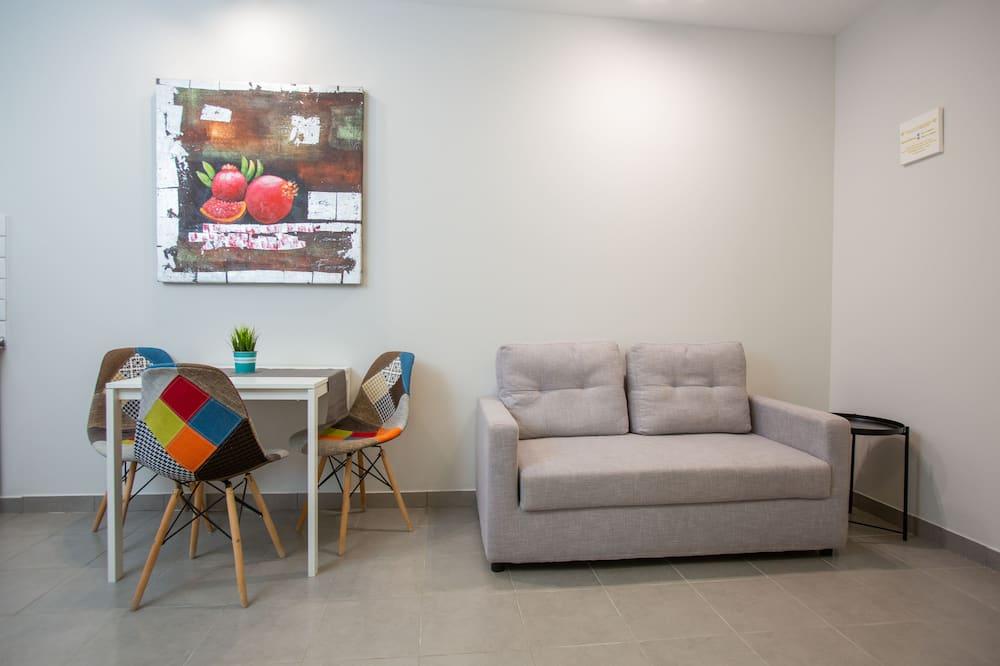 Apartment, 1 Bedroom, City View (4) - Ruang Tamu