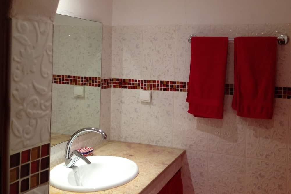 더블룸, 더블침대 1개 또는 싱글침대 2개 - 욕실