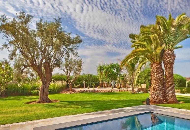 Villa Luna, Marrakech, Ogród