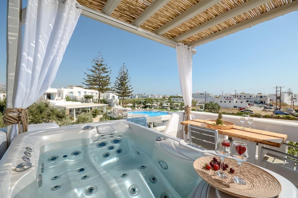 Suite Majestueuse, bain à remous - Terrasse/Patio