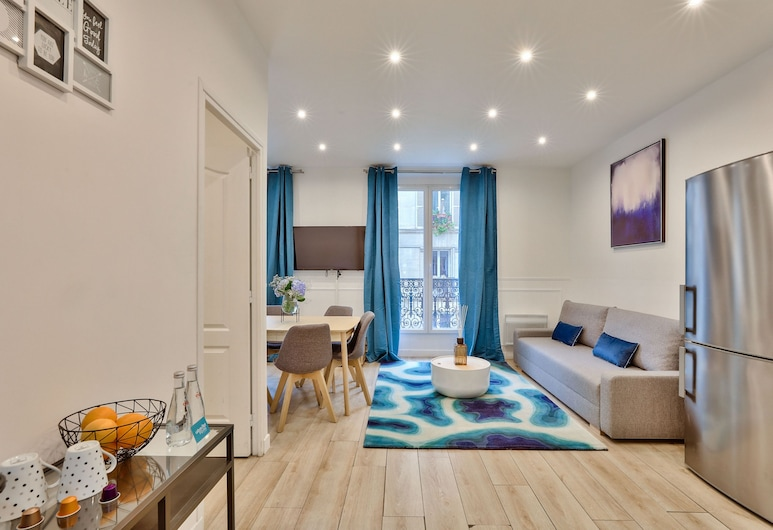 24 - Luxury Home in Paris Montorgueil, Παρίσι, Διαμέρισμα, 2 Υπνοδωμάτια, Περιοχή καθιστικού