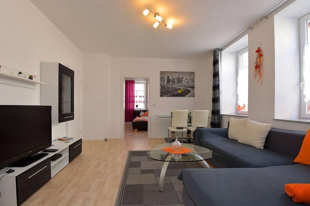 Apartmán (Dahlie) - Obývacie priestory