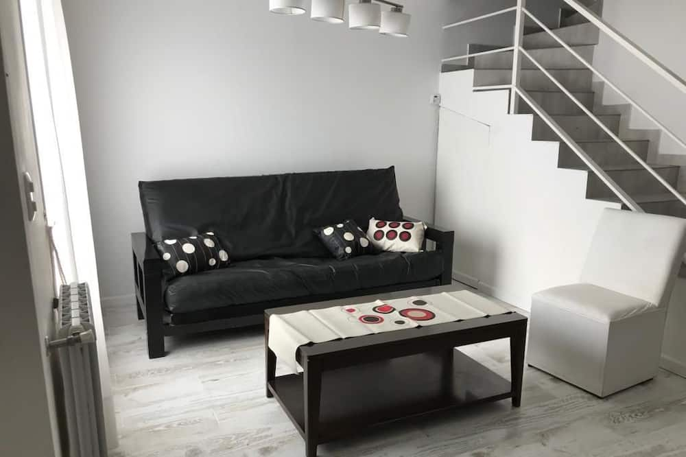 Dúplex familiar, Varias camas - Sala de estar