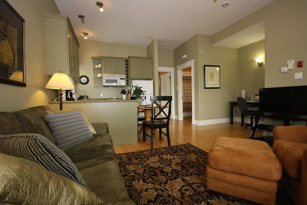 Furnished Apartment (102) - Living Area