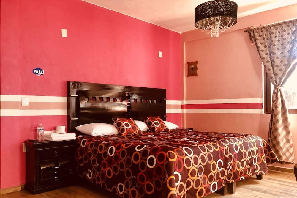 Chambre Confort, 1 très grand lit - Chambre