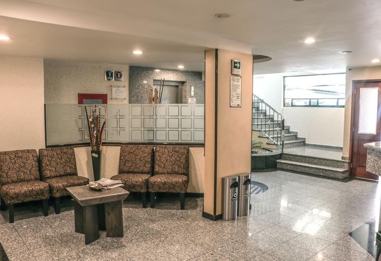 Hotel La Luna, Mexico City, Lobby Sitting Area