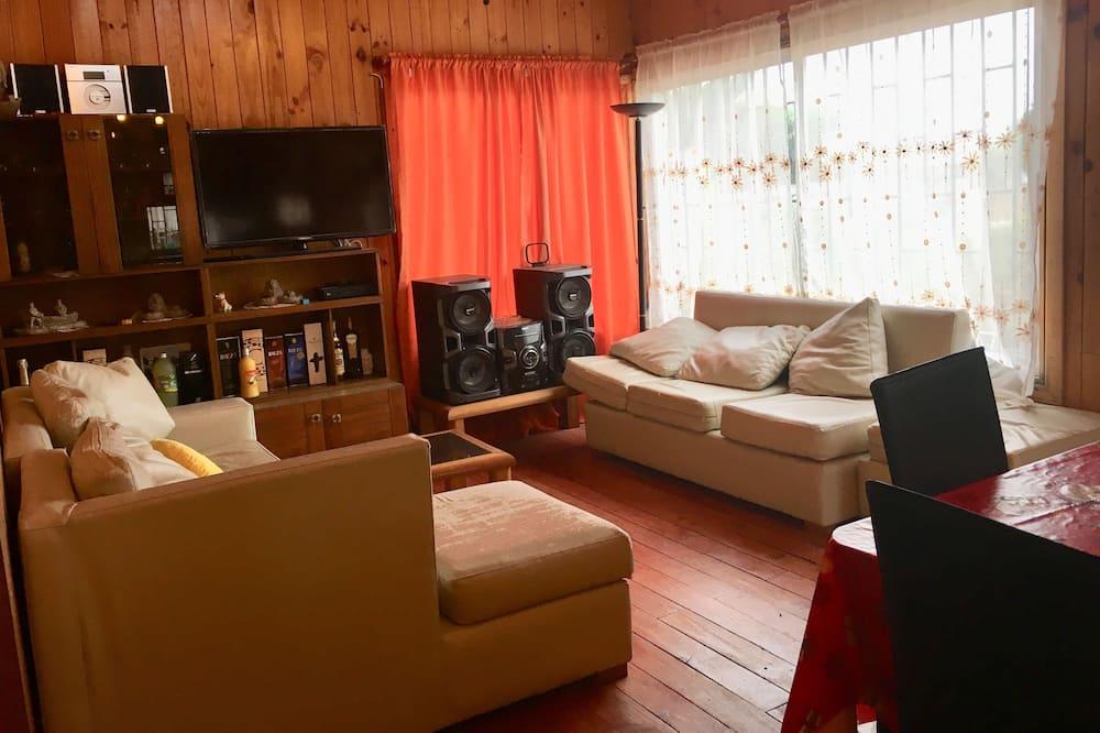 Casa Comfort, 6 Quartos, Cozinha - Área de Estar