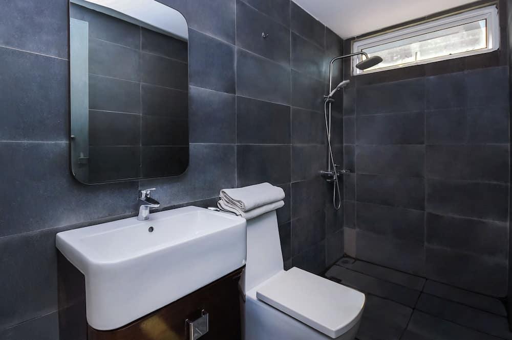 Standartinio tipo dvivietis kambarys, 1 labai didelė dvigulė lova - Vonios kambarys
