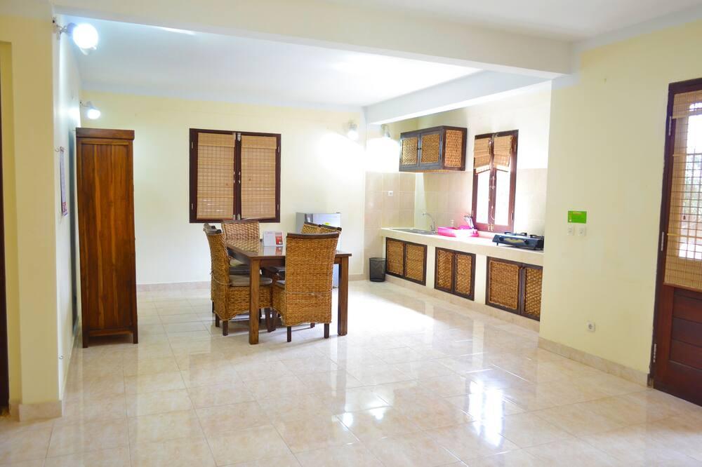 Vila, 1 miegamasis - Bendra virtuvės įranga