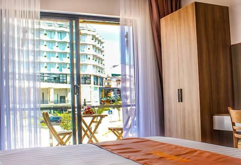 塔恩別墅酒店 - 大叻咖啡和雪糕, 大叻, 高級雙人房, 公園景, 客房景觀