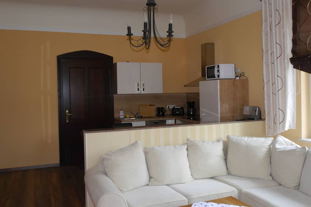 Comfort Apartment, 1 Bedroom, Balcony - Living Area