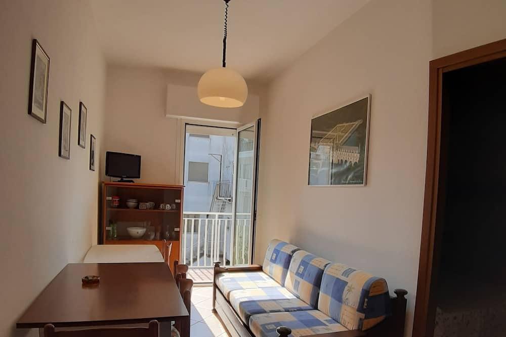 Departamento familiar, 1 habitación, con vista al patio - Sala de estar