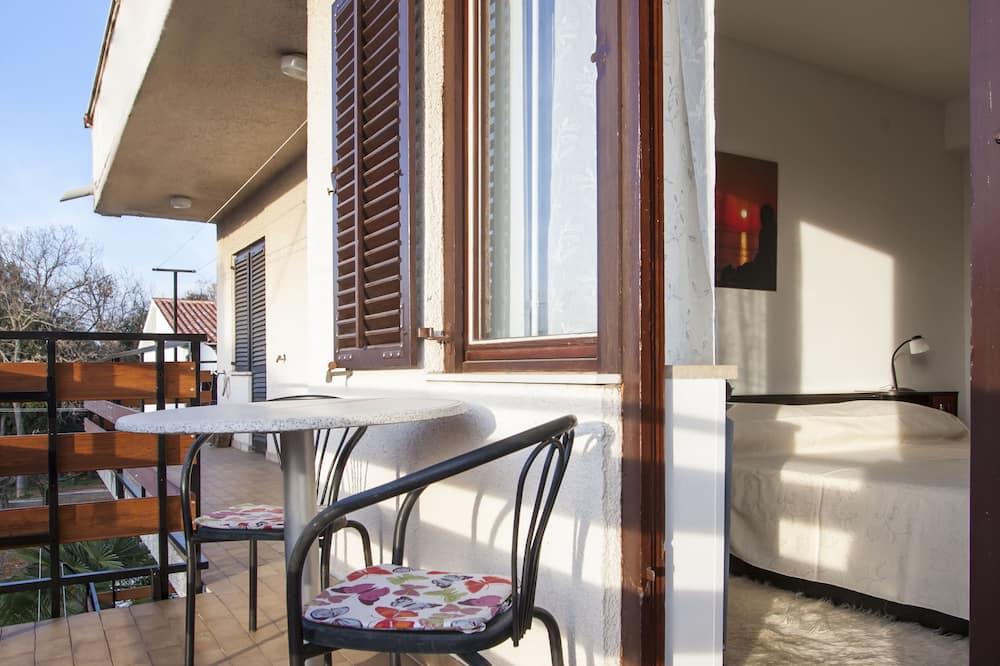 Apartemen, 1 kamar tidur, balkon - Balkon