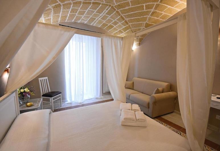 B&B Laura - Luxury Rooms, Gallipoli, Quarto Superior, Varanda, Quarto