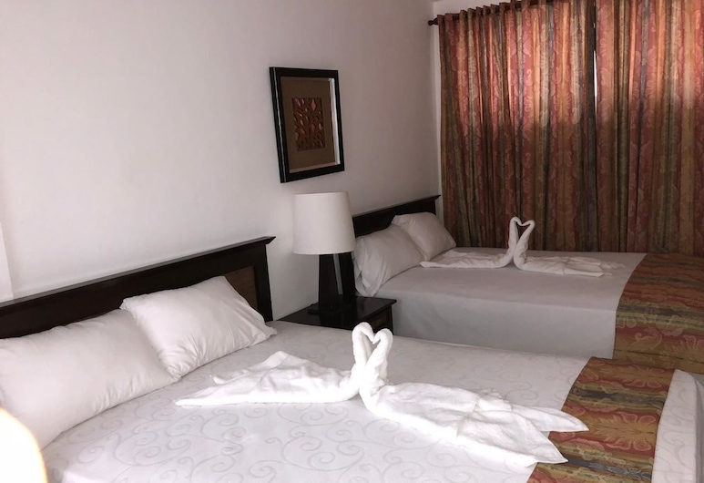 The Garden Hotel y Restaurant, Punta Cana, Basic Room, 2 Double Beds, Guest Room
