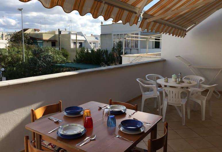 Suite Baia Verde, Gallipoli, Dzīvokļnumurs, divas guļamistabas, Terase/iekšējais pagalms