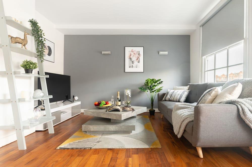 Apartemen Deluks, 2 kamar tidur - Area Keluarga