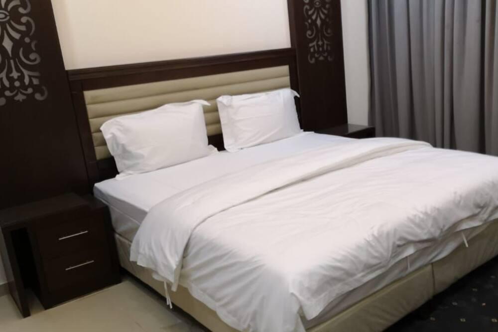 Апартаменты «Делюкс», 1 двуспальная кровать «Квин-сайз» - Зона гостиной