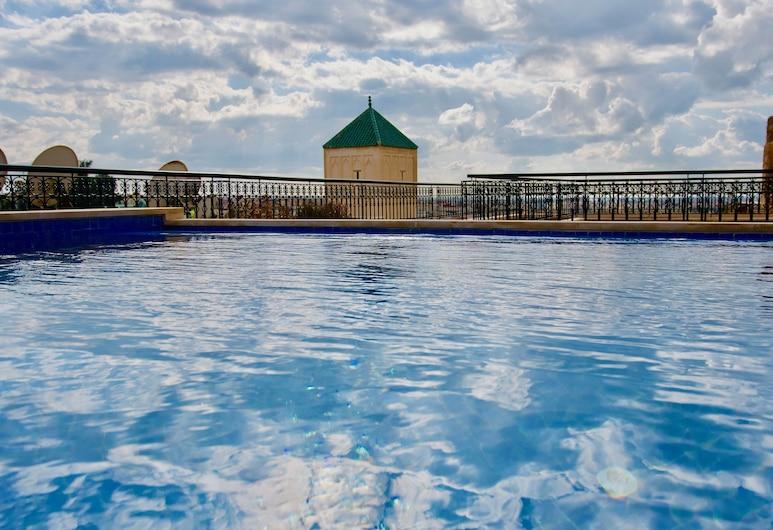 Riad Zidania, Meknes, Vonkajší bazén