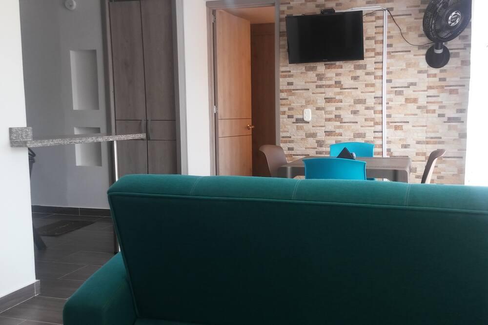 Căn hộ dành cho gia đình - Phòng khách