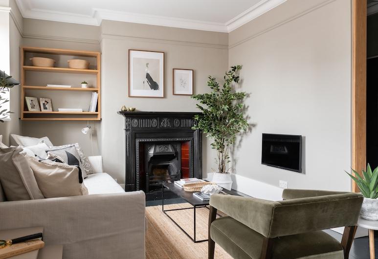 萊斯特廣場公寓 - H 之家酒店, 倫敦, 公寓, 1 張加大雙人床及 1 張梳化床, 客廳