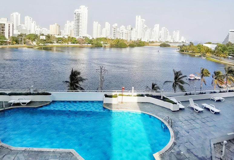 Apartamento Bocagrande By Parceros Group, Cartagena, Pool