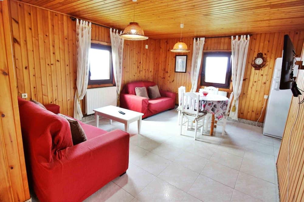 Bungalow, 2 Bedrooms, Sea View - Living Area
