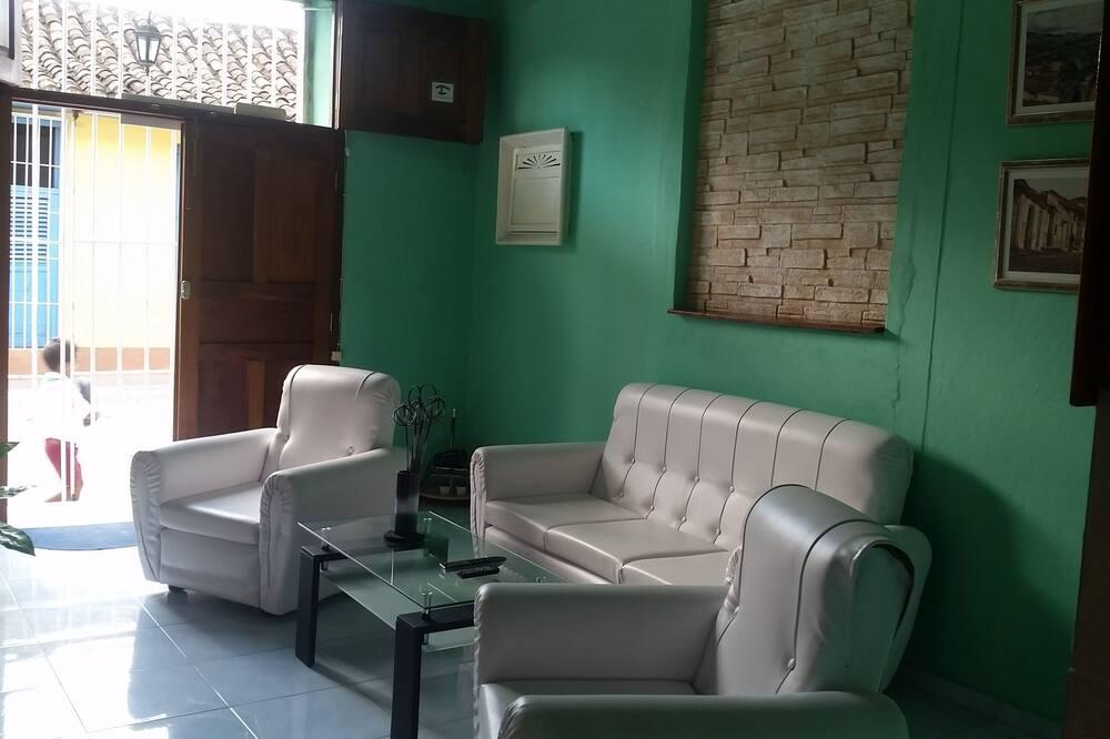 Maison, 2 chambres - Coin séjour