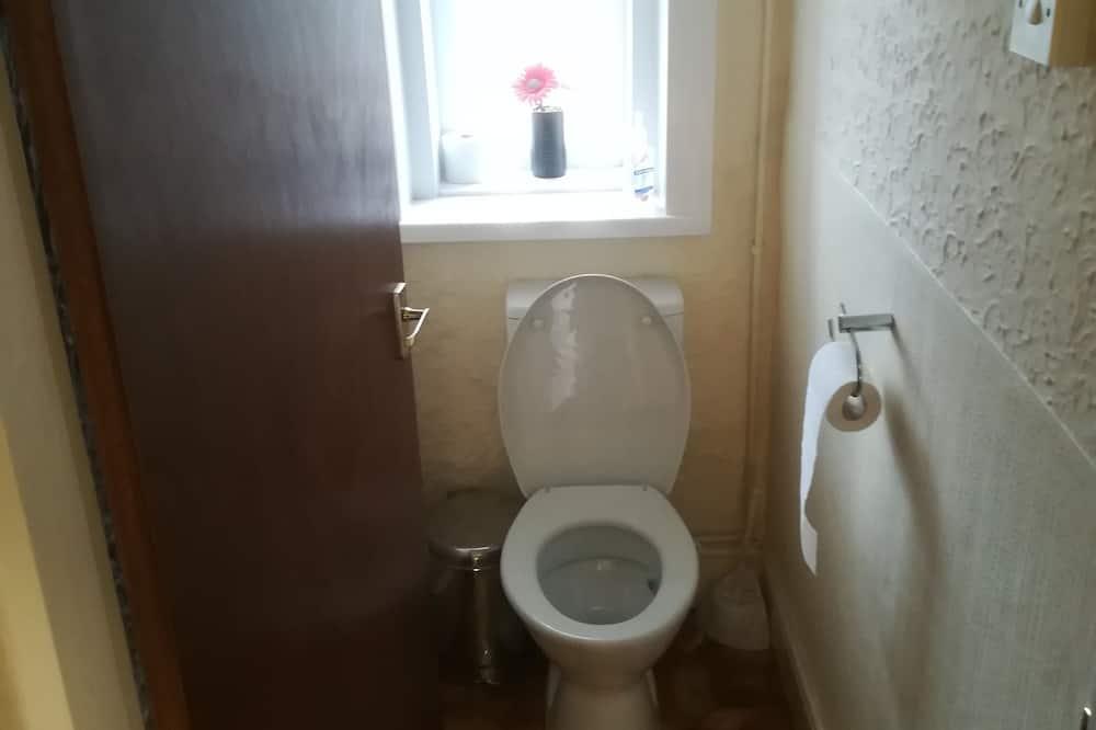 Standard-Einzelzimmer (Room 4) - Badezimmer