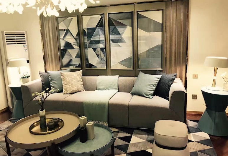 KAYTONG Residence, Šanghaj, Apartmán typu Deluxe, 2 spálne, Izba