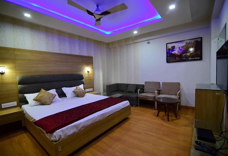 Hotel Shyampuriya Palace, Jaipur, Deluxe-Zimmer, 1 Schlafzimmer, Kühlschrank, Zimmer