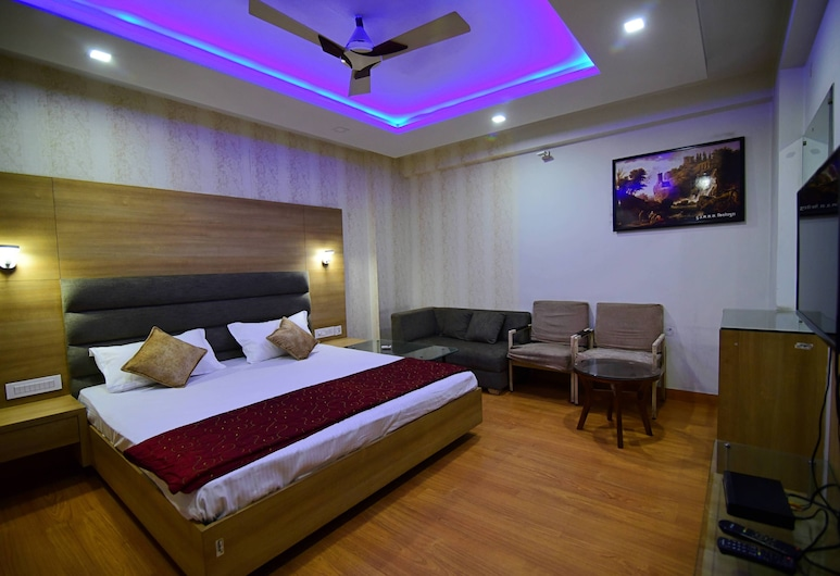 Hotel Shyampuriya Palace, Jaipur, Habitación Deluxe, 1 habitación, refrigerador, Habitación