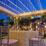 Vestuvių zona lauke