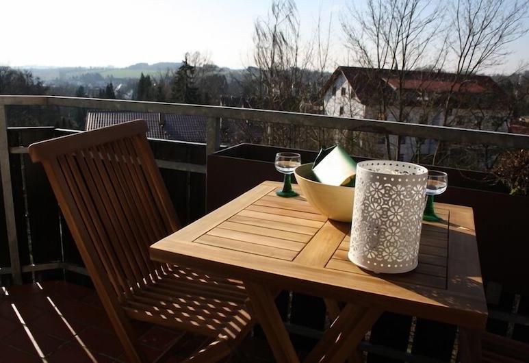 Ferienwohnungen Oberharzblick, Bad Sachsa, Huoneisto, 1 makuuhuone, Parveke (Südblick), Parveke