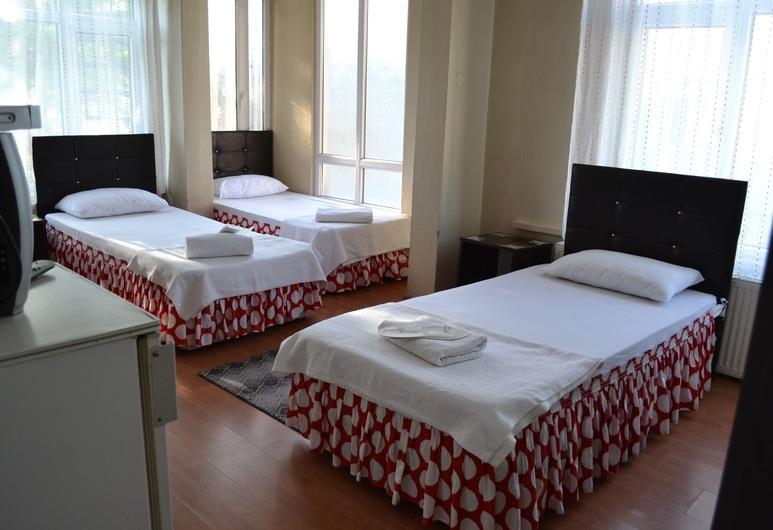 Damla Hotel, Edirne, Standard-Dreibettzimmer, Zimmer