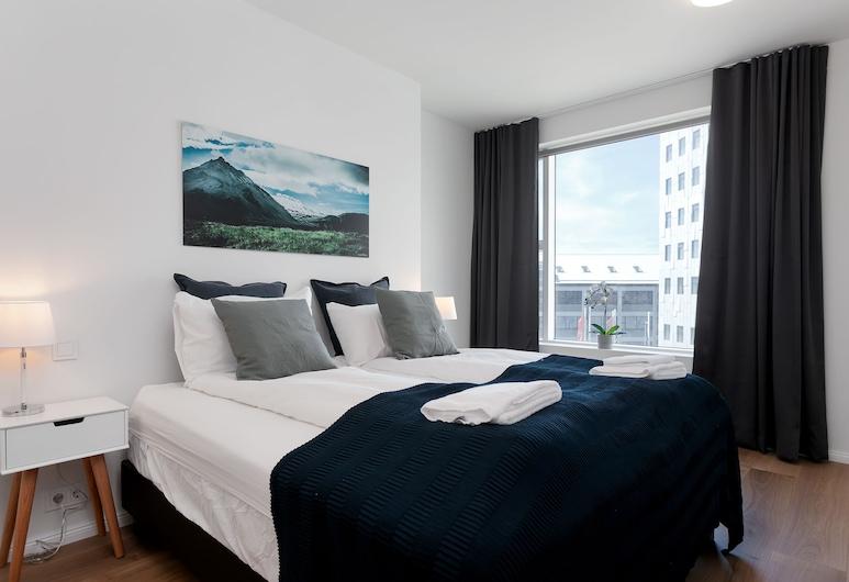 Sif Apartments, Reykjavík, Premier-íbúð - 2 svefnherbergi - svalir - borgarsýn, Herbergi